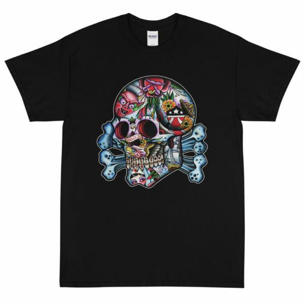 Death's Head Skull by Aaron Coleman